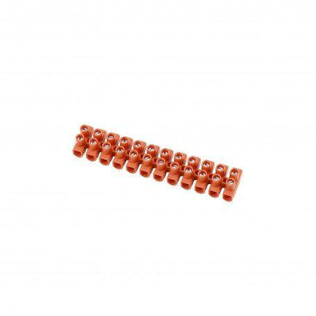 Morsettiera elettrica 12 connettori da 4mm