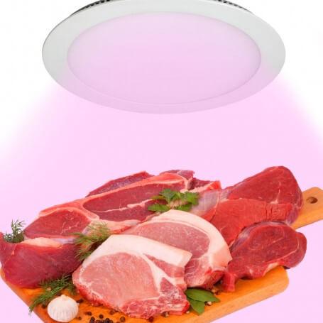 Pannello LEDRosa per Banco Carni 18W da Incasso