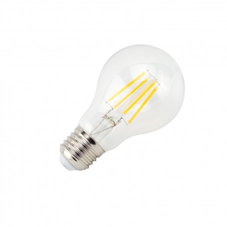 Lampadina LED A60 a Filamento 7W B. Caldo