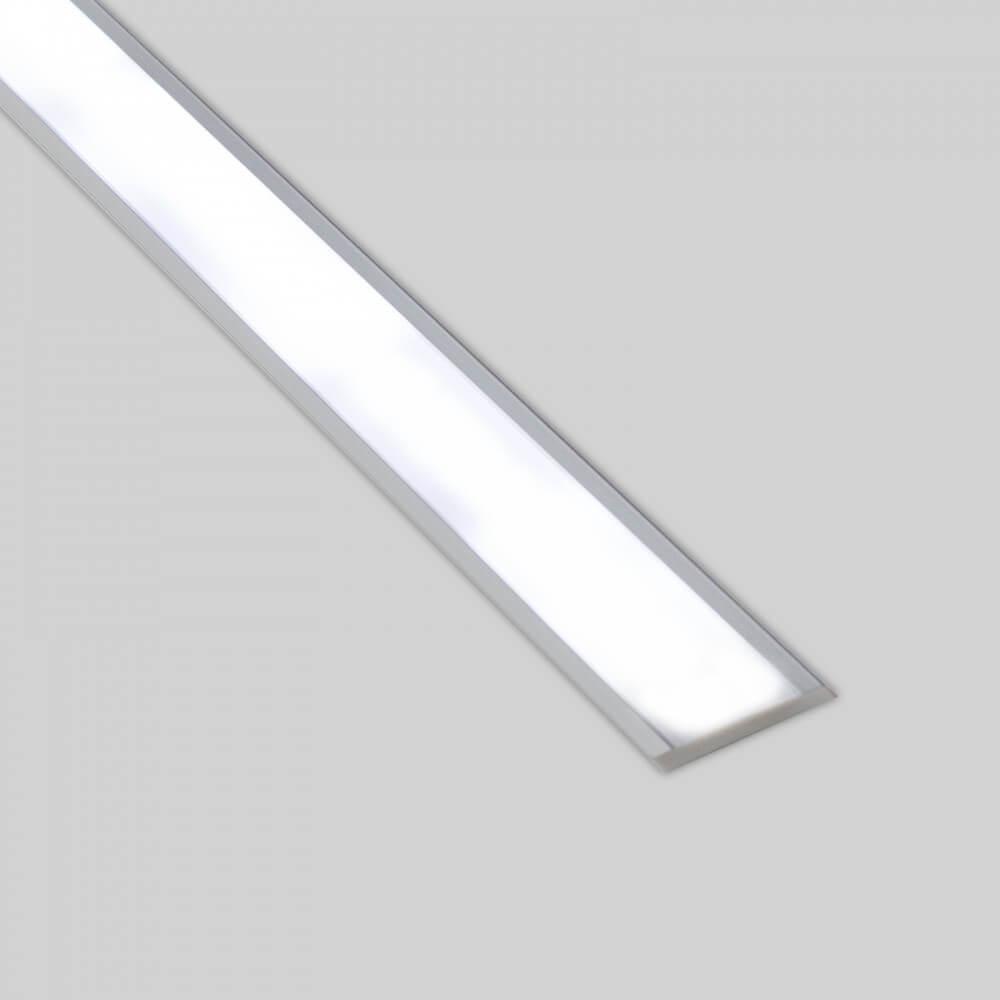 Profilo Per Doppia Striscia Led Da Incasso In Alluminio 1m E 2m