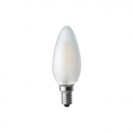 Lampadina a LED E14 4W in Vetro