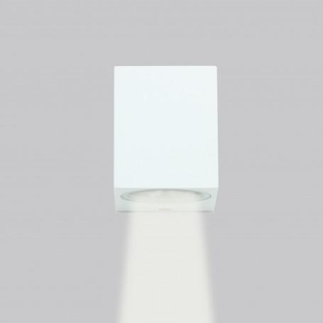 Applique QuadrataMonodirezionaleGU10 Bianco