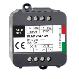 Controller Dimmer Monocanale 12/24Vdc