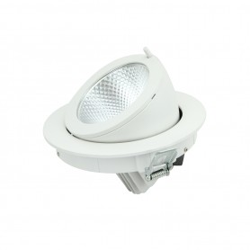 Faro LED Orientabile da Incasso 30W - foro ø155mm