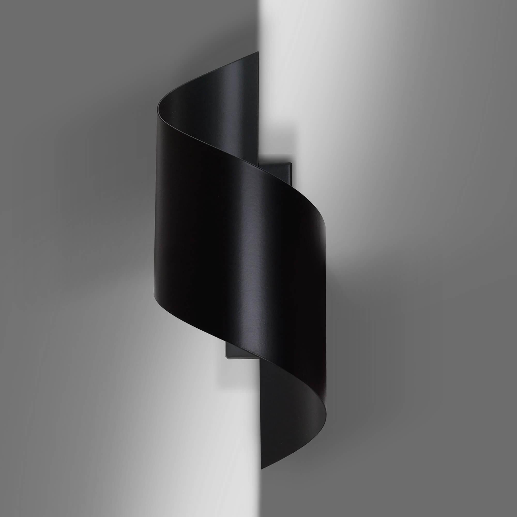 Lampade Al Neon Da Parete applique spiner black