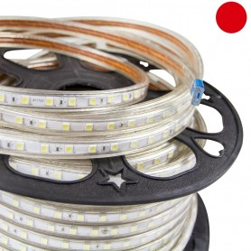 Striscia LED Rosso 5050 220V Professional