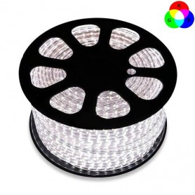 Bobina 50m Striscia LED 5050/60 220V - RGB