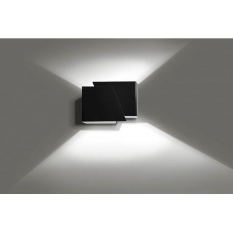 Lampadario da parete FROST BLACK
