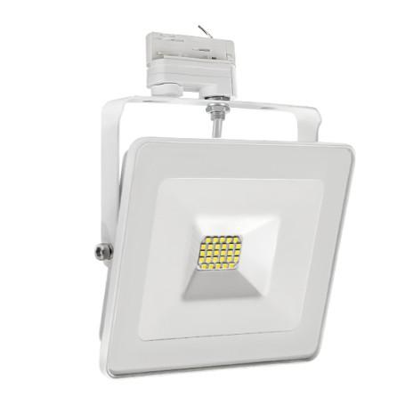 Faro LED Rettangolare per binario trifase 30W