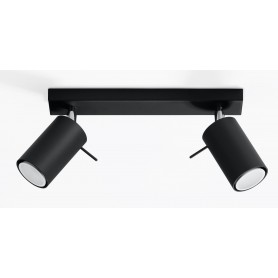 Applique da soffitto RING 2 Black