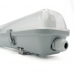 Plafoniera Stagna IP65 120cm tubo singolo