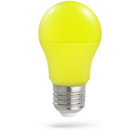 Lampadina LED E27 5W GIALLO