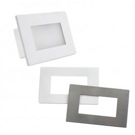 Segnapasso LED per scatola 503 da 3,5W - doppio frontalino