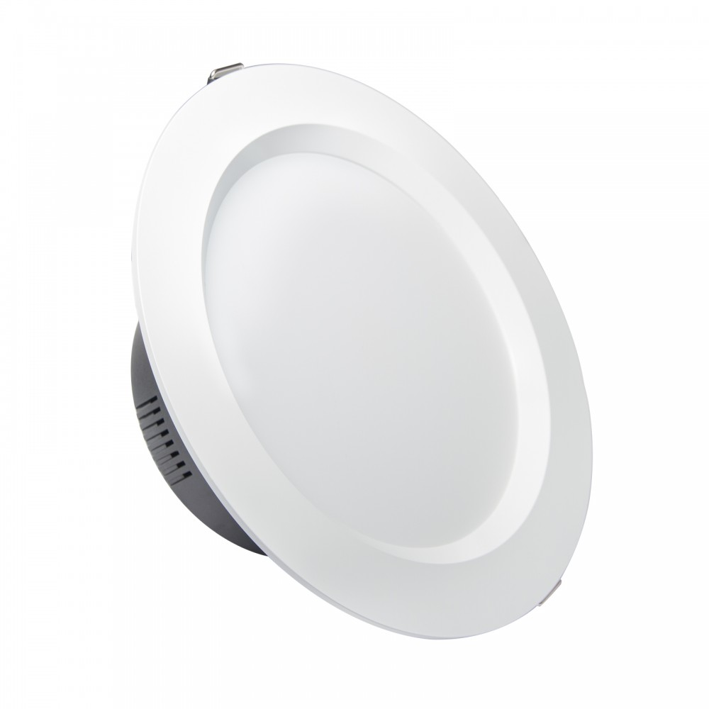 Faretti Da Incasso Per Interni A Led.Faretto Led Da Incasso 18w Foro O148 170mm