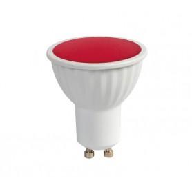 Faretto LED GU10 5W Rosso