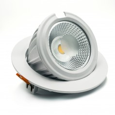 Faro LED Orientabile da Incasso 40W