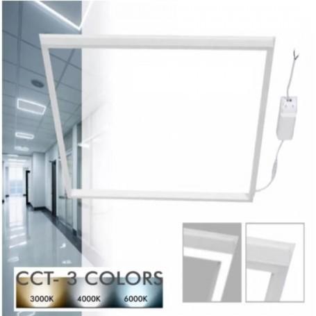 Pannello LED da incasso a Cornice 44W, CCT, 110lmW, CRI 85