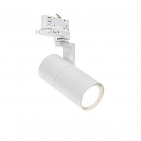 Faro GU10 per binario trifase - Bianco